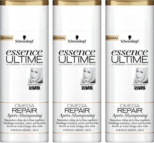 Essence Ultîme Aprés-Shampooing Omega Repair 250 ml - Lot de 3