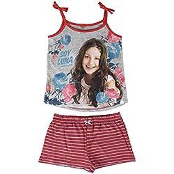Soy Luna - pijama sin mangas 2 piezas 100% algodón (6)