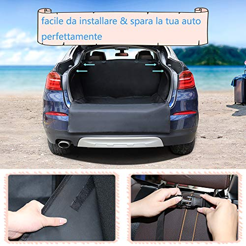 Zoom IMG-2 telo auto per cani protezione