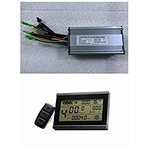 51jISRjRFYL. SS300  - NBPower 36V/48V 750W 25A Brushless DC Motor Controller Ebike Controller +KT-LCD3 Display One Set,used for 750W-1000W Ebike Kit.