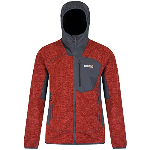 Regatta Cartersville III Vlies Jacke - AW17 Burnt Tikka/Grey