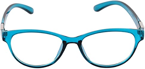 Cateye Spectacle Frame for Girls|Women.Blue Color Frame.