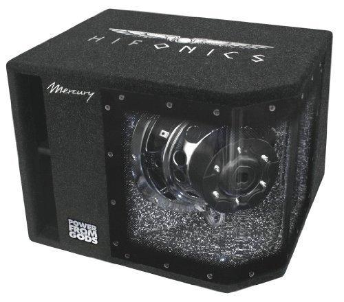 Hifonics MR10BP Mercury im Bandpassgehäuse (Single-bandpass-system)