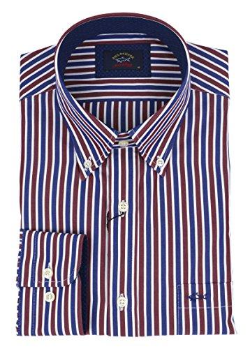 Paul & shark casual, cotton, shirt, 43 it