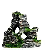 LaVibe Acquario Ornamento, Mountain View Resina Rockery Ornamento Mountain View Decor