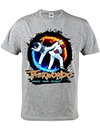 Rule Out Camiseta Prenda de Lucha Taekwondo. Respect. Honor. Integrity. Entrenamiento. Gimnasio Ropa Deportiva.