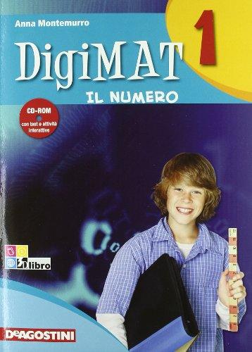 Digimat. Aritmetica. Con quaderno palestra INVALSI. Per la Scuola media. Con CD-ROM: DIGIMAT 1 ARIT+INV +CD