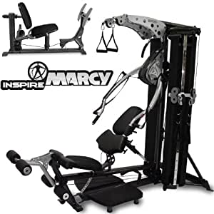 Inspire M4 Iso-Lateral Multi Gym/Home Gym With Leg Press