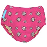 Charlie Banana Schwimmwindel Trainingswindel 2-in-1 the fashion collection robot girl in rosa Small 0-6 Monate Trainer