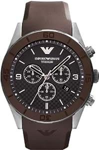 Emporio Armani Montre Homme Chronographe Bracelet Horloge AR9501 XL