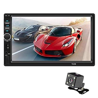 Autoradio-mit-Bluetooth-Freisprecheinrichtung-7-Doppel-2-DIN-Auto-MP5-MP3-Player-Bluetooth-Berhren-Bildschirm-Stereo-Radio-Kamera