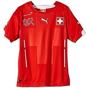 PUMA Kinder Trikot Suisse Kids Home Shirt Replica