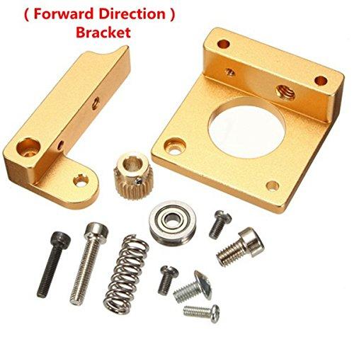 Gaoxing Tech. Alle Metall Rechte Hand MK8 Extruder Aluminium Rahmen Block DIY Kit für Reprap i3 3D Drucker