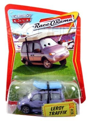 Disney/Pixar Cars Race O Rama Series LeroyTraffik #28 1:55 Scale. by Cars play gear
