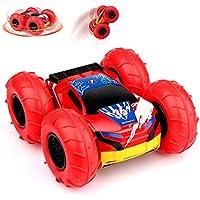 Baztoy RC Auto 360° Drehung Kinder Jungs Spielzeug Car mit Aufblasbaren Rädern