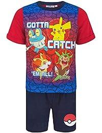 Pokemon - Pijama dos piezas - Manga Corta - para niño