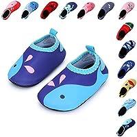 Laiwodun zapatos de niño Zapatos de agua de natación Niños Zapatos de niños  descalzo Aqua calcetines c0ea29f5908