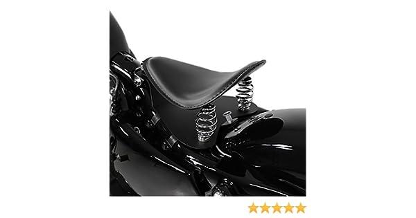 Sella Monoposto a molle per Harley Davidson Sportster 883 R Roadster XL 883 R Craftride FL con piastra di fissaggio