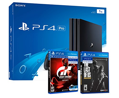 """PS4 PRO 1To (CUH-7116B) Playstation 4 Pack Gran Turismo Sport """"GT Sport"""" + The Last of Us Remastered HD"""