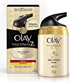 #5: Olay Total Effects 7-in-1 Anti Aging Day Skin Cream Normal SPF15, 50g