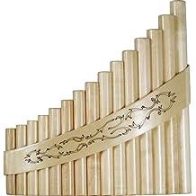 Hora Stringed Instruments PP-15 - Flauta de pan rumana de 15 tubos