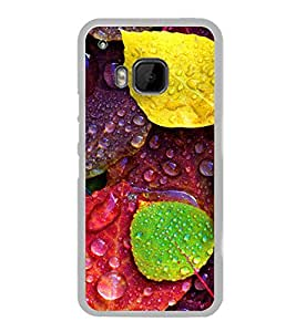 Multicolour Autumn Leaves 2D Hard Polycarbonate Designer Back Case Cover for HTC One M9 :: HTC One M9S :: HTC M9 :: HTC One Hima