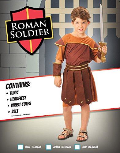 Imagen de disfraz de niño de soldado romano. 10  13 años alternativa