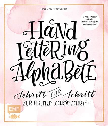 Handlettering Alphabete: Schritt für Schritt zur eigenen Schönschrift - 2 Maxi-Poster mit allen Schrift-Vorlagen zum Abpausen