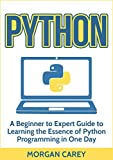 Python: A Beginner to Expert Guide to Learning the Essence of Python Programming in One Day (Python, Python Programming, Beginner to Expert Guide)