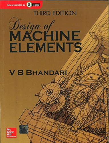 Jhar Product Design of Machine Elements/(old book as per latest syllabus)