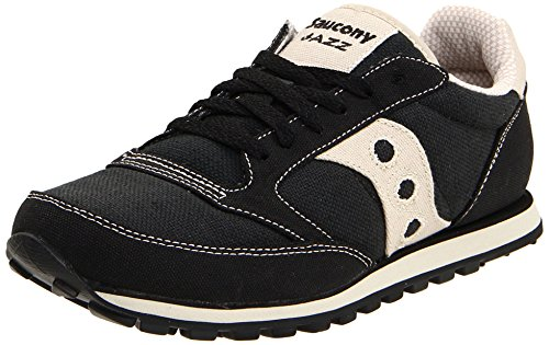 Saucony Originals Men's Jazz Low PRO Vegan Sneaker,Black/Oatmeal,8 M