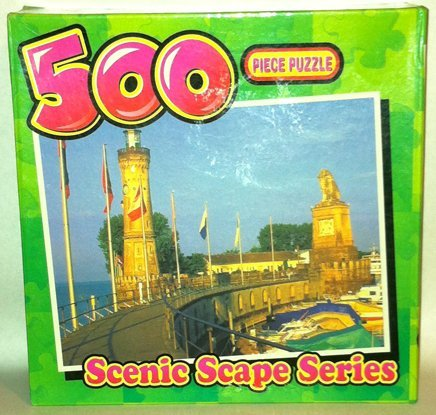 Preisvergleich Produktbild Scenic Scape Series Riverside Lighthouse 500 Piece Jigsaw Puzzle by Scenic Scape Series