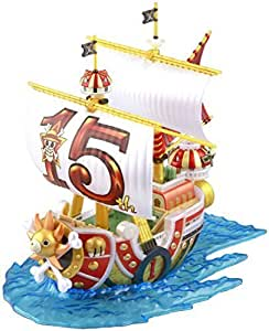 """Bandai Hobby Grand Ship Collection Thousand Sunny 15th Anniversary Version """"One Piece"""" Model Kit by Bandai Hobby"""