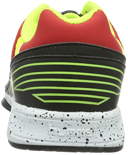 hummel  CELESTIAL COURT X3, Chaussures indoor mixte adulte Multicolore - Mehrfarbig (Flame Scarlet 3015)