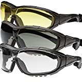 Valken Axis Safety Vented Frame Goggles