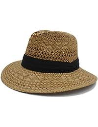 ZXCVBM Cappello da Sole di Paglia di Rafia per Donna Elegante Cappello di  Paglia di Rafia ccd772cae0f6