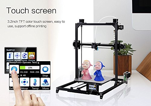 FLSUN 3D – Prusa i3 (C5) Plus (Touchscreen und Dual-Nozzle Version, inkl. Cyclops und Chimera) - 4