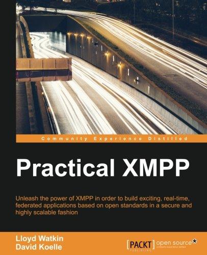 Practical XMPP