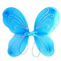 Gyratedream Kids Fairy Elf Wings Butterfly Wings for Children Party Costume Fancy Dress