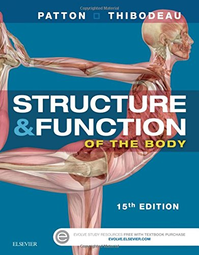 Structure & Function of the Body - Softcover, 15e por Kevin T. Patton PhD, Gary A. Thibodeau PhD