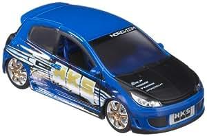 Norev - Voiture miniature -  Coffret Tuning 1/32ème - Clio HKS bleu
