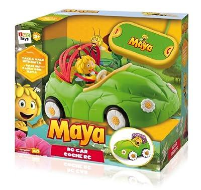 IMC Toys - Coche Cabrio Rc con motivos de Abeja Maya incluye figura de Maya (43-200241) por IMC Toys