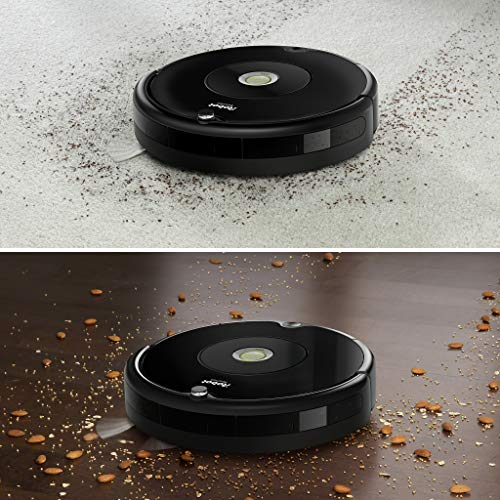 iRobot R606040 Roomba 606 Robot Aspirateur sans Sac, Noir