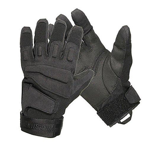 Hellstorm Handschuh S.O.L.A.G. Full-Finger, Schwarz, XL
