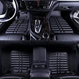 #9: Oshotto - Premium Quality Custom Fit 3D Car Mats For - Hyundai CRETA- Set of 3Pcs(2 pc front & one long pc rear)