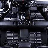 #6: Oshotto - Premium Quality Custom Fit 3D Car Mats For - Hyundai CRETA- Set of 3Pcs(2 pc front & one long pc rear)
