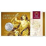 TGBCH Neujahr Münze 2019 Joy of Living Österreich Bu 5 Euro Münze Mni
