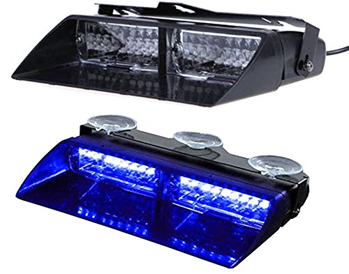 Preisvergleich Produktbild KAIKSO-IN 16 LED 18 Modi Auto LKW Notfall Blitz Dash Strobe-Blitzleuchte (A)
