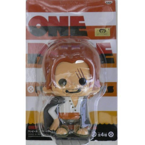 Shank Single (Seven Warlords of the sea appeared hen two single item Shanks ONE PIECE x PansonWorks One Piece Soft Vinyl Figure in Blister King (japan import))