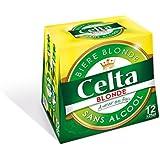Bière sans alcool CELTA, pack de 12 bouteilles de 25cl